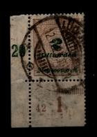 DR 1923 Nr 326A Plattennummer 42 Gestplt Gepr (93012) - Deutschland