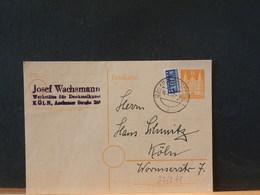 82/271  CP  ALLEMAGNE   1950 - [7] République Fédérale