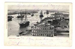 EGYPTE - PORT SAID Port, Cachet Du Vapeur Caobang - Port Said