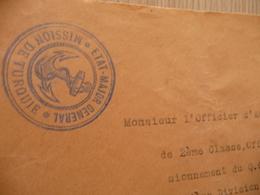 Lettre France Guerre 1919 Etat Major Général Mission De Turquie Trésors Et Postes 502 Marine - Marcophilie (Lettres)