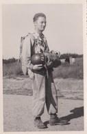 Photo Ancienne Militaire  Parachutiste - Guerre, Militaire