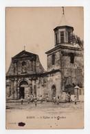 - CPA MARIN (Martinique) - L'Eglise Et Le Clocher (avec Personnages) - - Le Marin
