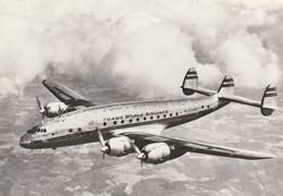 Rare Cpsm Avion Constellation De La TWA - 1946-....: Era Moderna