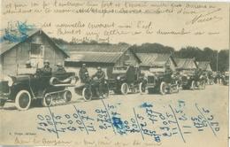 Camp De Mailly 1922; Groupe D'Autos-chenilles - écrite. (A. Nieps) - Mailly-le-Camp