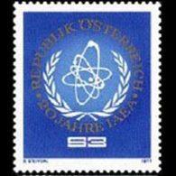 AUSTRIA 1977 - Scott# 1059 Atomic Energy Set Of 1 MNH - 1945-.... 2nd Republic