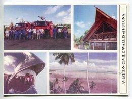 WALLIS-et FUTUNA - Carte De Voeux De La Délégation De L'Aviation Civile   - Voir Scans - Wallis-Et-Futuna