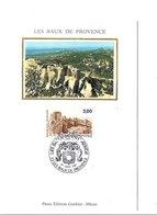 CARTE MAXIMUM 1987 LES BAUX DE PROVENCE BOUCHES DU RHONE - 1980-89