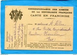 GUERRE 14-18- Marcophilie-soldat-carte F M - Illustrée 3 Drapeaux Imp Weich-datée Du 21 Dec 1914- La Pagaille Postale!! - Postmark Collection (Covers)