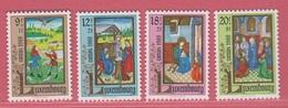 1988 ** (sans Charn., MNH, Postfrisch)  Yv  1160/3Mi  1210/3 - Luxembourg