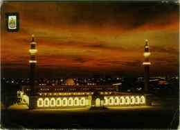 ABU DABHI - U.A.E. GRAND MOSQUE / MOSQUEE AT NIGHT PHOTO J.DALLI 1970s (BG2003 - United Arab Emirates