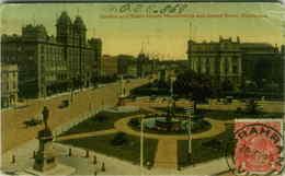AUSTRALIA GORDON & EIGHT HOURS MONUMENTS & GRAND HOTEL MELBOURNE 1918 (BG2118) - Melbourne