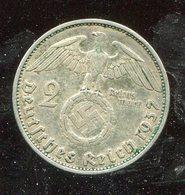 """Deutsches Reich / 1937 A / Kursmuenze 2 Reichsmark """"Hindenburg"""", SS (6/020-30) - 2 Reichsmark"""