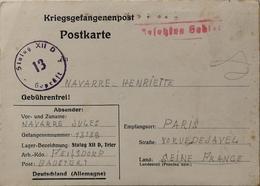 Kriegsgefangenpost / Correspondance Militaire : STALAG XII - D BAUSTERT (Rhénanie - Allemagne) - Documents