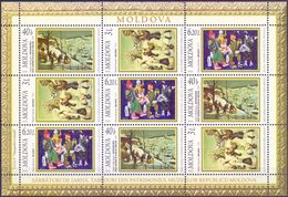 Moldova, 2006, Mi. 570-72, Y&T 494-96, Sc. 544-46, SG 562-64, Christmas & New Year, MNH - Moldova
