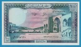 LEBANON LIBAN 100 LIVRES 1988  P# 66d  UNC  Palace Beit-ed-Din - Liban
