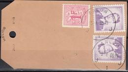 1029 (2) Met Stempel Arlon 1 Op Staal Zonder Waarde (contre Remboursement) - 1953-1972 Lunettes