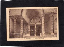 "83220    Francia,  Aurignac,  Le Porche De L""Eglise,  NV(scritta) - Saint Gaudens"