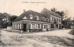 FLECHIN.  MAGASIN  MOINE-BRUYANT. Carte En Achat Immédiat - France