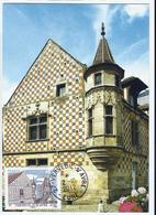Carte Maximum VERNEUIL Sur AVRE - Maison à Tourelle Du XVe - 2010-...