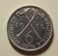Southern Rhodesia 6 Pence 1932 Silver - Rhodésie