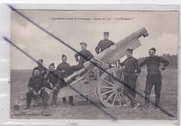 "Militaria: L'Artillerie Lourde De Campagne - Canon De 155 -"" Le Rimailho"" - Manoeuvres"