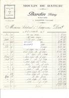 AGRICULTURE - MOULIN De RATEAU - Ets BARDIN Minotiers  à AGONGES 03 -Facture De 1927 - 1170119 - Agriculture