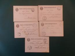 KARTONNEN DOOS SUISSE    5 CP SUISSE - Interi Postali