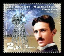 Bosnia And Herzegovina 2018 Mih. 728 Physicist, Inventor Nikola Tesla MNH ** - Bosnien-Herzegowina