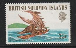 SALOMON - 1971 - N°198 ** - Barque - Iles Salomon (...-1978)