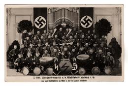 1639,  Erlbach Im Vogtland, I. Sächsische Jungvolk-Kapelle, Markneukirchen, Plauen - Weltkrieg 1939-45