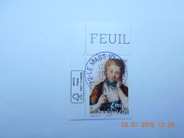 FRANCE 2019   EMILIE DU CHATELET ( 1706-17449)  Beau Cachet Rond Sur Timbre  Neuf   Coin De Feuille - Oblitérés