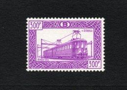 BELGIE 1952 SP 321 RAILWAY $220 POSTFRIS AUTHENTIQUE FRAICHEUR POSTAL MNH ** TB - Railway