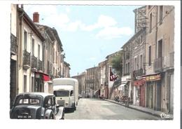 D  34   LE BOUSQUET D'ORB       Centre Ville  (voitures) - France