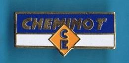 PIN'S //  ** CHEMINOTS / C.E ** - TGV