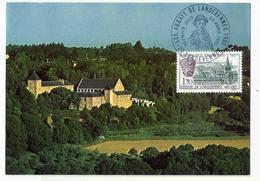 Carte Maximum LANDEVENNEC  - L'abbaye - Cartoline Maximum