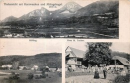 Österreich - Höfling - Haus M. Treiber - Thalansicht Mit Karawanken Und Mittagskogel - Autriche