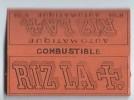 Carnet De Papier à Cigarettes/Riz La +/Papier Combustible/Lacroix Fils /Angouléme/ Vers 1930-1950  CIG21quinto - Tabac (objets Liés)
