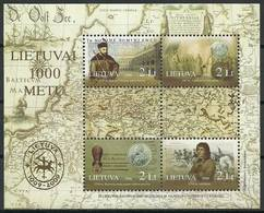 Lithuania 2006 Mi Bl 33 MNH ( ZE3 LTHbl33dav140A ) - Geography