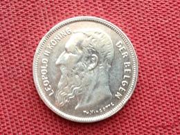 BELGIQUE Monnaie De 2 Frs 1909 Argent Superbe état - Coins