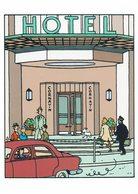 2006 HELVETIA SUISSE ENTIER POSTAL - TINTIN 100 ANNIVERSAIRE DE LA NAISSANCE DE HERGE - HOTEL CORNAVIN -VOITURE - Cuentos, Fabulas Y Leyendas