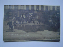 CARTE PHOTOGRAPHIE Ancienne : METZ 1909 / PHOTO HALL PRILLOT - Metz