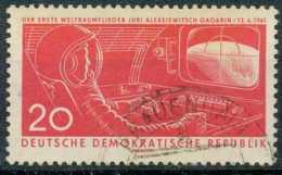 [110191]N° 541, 20p Rouge, Gagarine Dans Sa Cabine. - Usati