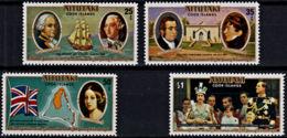 A0578 AITUTAKI 1977,  SG 225-8  Silver Jubilee Queen Elizabeth,  MNH - Aitutaki