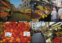 BOLZANO - OBSTPLATZ - PIAZZA ERBE - VIAGGIATA 2005 FRANCOBOLLO ASPORTATO - Mercati
