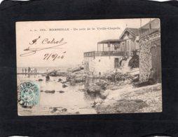 83235    Francia,  Marseille,  Un Coin De La Vieille-Chapelle,  VG  1904 - Marseille