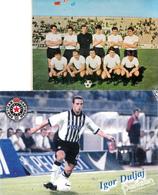 "FOOTBALL TEAM ""PARTIZAN"" SERBIA - Soccer"