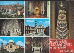 UN SALUTO DA  S. CASA DI LORETO - VIAGGIATA DA LORETO 2002 - Saluti Da.../ Gruss Aus...