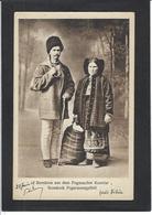 CPA Roumanie Romania Roemenie Type Ethnic Non Circulé Voir Scan Du Dos - Roumanie