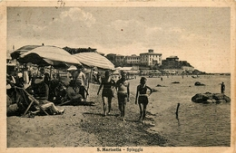 Italia * Italie * Santa Marinella * Spiaggia * Plage - Italy