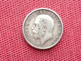 GRANDE BRETAGNE Monnaie Six Pence 1914 Argent - 1902-1971 : Monnaies Post-Victoriennes